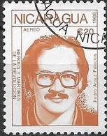 NICARAGUA 1988 Revolutionaries - 20cor. Pedro Arauz Palacios FU - Nicaragua
