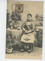 ASIE - CHINE - CHINA - PEKIN - PEKING - TIEN TSIN - CITÉ - Jeune Chinoise - CITY - Young Chinese Woman - Chine