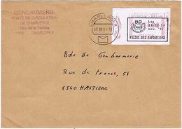 """Belgique - 2 Plis - Oblitérations """"BD Charleroi"""" 1991 Et 2000 - Bandes Dessinées"""