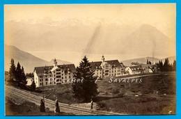 Suisse Lucerne * Rigi Kaltbad Vers 1875 * Photo Albumine - Voir Scans - Anciennes (Av. 1900)