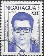 NICARAGUA 1988 Revolutionaries - 28cor. Julio C. Buitrago Urroz FU - Nicaragua