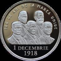 ROMANIA -2018-  50 BANI - COMMEMORATIVE COINS - 100 Years Since The Union Of TRANSYLVANIA With Romania PROOF (Rare) - Romania