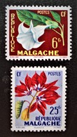 FLORE 1959 - NEUFS * - YT 336/37 - MI 440/41 - Madagascar (1960-...)