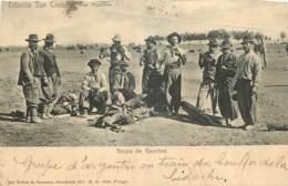 ARGENTINE -  ARGENTINA -  ESTANCIA SAN CRISTOBAL - GRUPO DE GAUCHOS - Argentine
