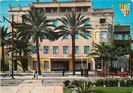 Gd Format: Env 15cms X 10cms -ref Y356 - Espagne -espana -spain - Badalona - Hotel Miramar  -carte Bon Etat - - Espagne