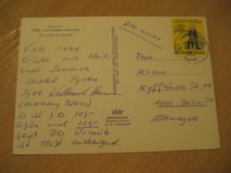CAP-HAITIEN 1980 To Berlin Germany Dessalines Stamp Cancel La Citadelle Laferriere Citadel Post Card HAITI - Haïti