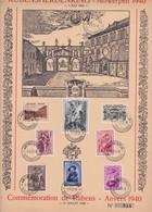 HERDENKINGSBLAD/FEUILLET SOUVENIR  RUBENS  TE/A ANTWERPEN - Cartes Souvenir