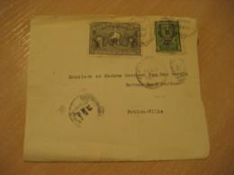 PORT-AU-PRINCE 1949 To Petion-Ville Bicentenaire Desssalines Stamp Frontal Front Cov. HAITI Greater Antilles West Indies - Haïti