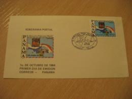 1984 Soberania Postal FDC Cancel Cover PANAMA - Panama