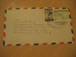Panama Tocumen 1959 To Washington USA Stamp Cancel Air Mail Cover PANAMA - Panama