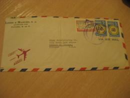 Panama 1959 To Chicago USA Stamp Cancel Air Mail Cover PANAMA - Panama