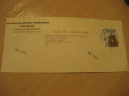 Panama 1976 To Cincinnati USA Stamp Cancel Air Mail Cover PANAMA - Panama
