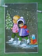 KOV 8-51 - NEW YEAR, BONNE ANNEE, Children, Enfants - Nouvel An