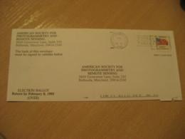 GMF BAY COUNTY 1995 To Bethesda USA Panama Cancel Stamp Cover PANAMA - Panama