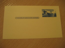 Panama Canal Lock 3c Postal Card Postal Stationery Card PANAMA CANAL ZONE C.Z. CZ USA - Panama