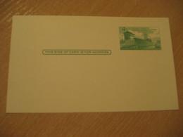 4c Panama Canal Lock Postal Card Postal Stationery Card PANAMA CANAL ZONE C.Z. CZ USA - Panama