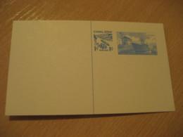 Panama Canal Lock 1c Overprinted 5c Postal Card Postal Stationery Card PANAMA CANAL ZONE C.Z. CZ USA - Panama