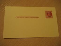 CANAL ZONE Overprinted 2c Postal Card Postal Stationery Card PANAMA CANAL ZONE C.Z. CZ USA - Panama
