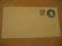 CANAL ZONE 1c Overprinted 4c Postal Card Postal Stationery Cover PANAMA CANAL ZONE C.Z. CZ USA - Panama