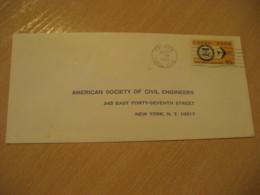BALBOA 1969 To New York USA Stamp Cancel Air Mail Cover PANAMA CANAL ZONE C.Z. CZ USA - Panama
