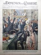 La Domenica Del Corriere 10 Settembre 1905 Pace Russia E Giappone Tamagno Candia - Books, Magazines, Comics