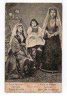 Caucasian Types. Armenia. Georgia. Armenian Woman And Georgian Woman. - Armenia