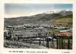 Gd Format: Env 15cms X 10cms -ref Y355- Andorre -andorra - Seo De Urgel -sierra Del Cadi -carte Bon Etat - - Andorre