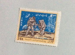 Timbre Oblitéré : Iran (Commémoration 21 Juillet 1969) - Iran
