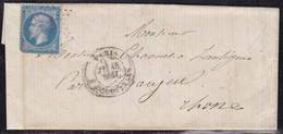 France, Paris - étoile (29) Avec Càd R. Mouffetard Sur LAC De 1864 - Indice 21 - Poststempel (Briefe)