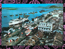 MACAU 1960'S INNER HARBOUR PPC, BOOK SHOP PRINTING - Chine