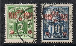 ESTONIE N°91 Et93 - Estonie
