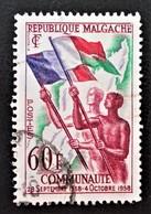 COMMUNAUTE FRANCAISE 1959 - OBLITERE - YT 340 - MI 444 - Madagascar (1960-...)