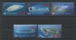 TAAF N° 472/476 ** Neufs MNH Superbes Cote 10,50 € Faune Marine Tortue Turtle Iles Eparses Océan Indien Tromelin - Terres Australes Et Antarctiques Françaises (TAAF)