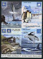 TAAF 2001 Bloc N° 5 ( 298/301 ) Neuf MNH Superbe C 13 € Faune Oiseaux Albatros Manchots Otaries Birds Iles Animaux - Blocks & Kleinbögen