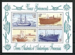 TAAF 2001 Bloc 6 ** ( N° 302/305 )  Neuf MNH Superbe C 16,20 € Bateaux Vieux Gréments Ships Navires Sailboat Transports - Blocks & Kleinbögen