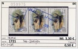 Irak - Iraq - Michel 1721 Im 3er Streifen - Oo Oblit. Used Gebruikt - Iraq