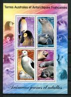 TAAF 2002 Bloc N° 8 ** (344/347) Neuf MNH Superbe C 16,80 € Faune Oiseaux Albatros Manchots Birds Animaux Animals Fauna - Blocs-feuillets