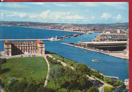 MARSEILLE FRANCE POSTCARD USED - Marseilles