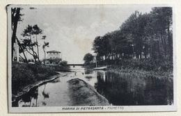 MARINA DI PIETRASANTA - FIUMETTO VIAGGIATA FP - Lucca