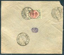1916 Persia Ahmad Shah 6ch Cover. Barfrouch - Teheran - Iran