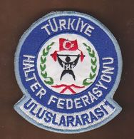 AC -  TURKISH WEIGHTLIFTING FEDERATION INTERNATIONAL REFEREE 1 PATCH - Ecussons Tissu