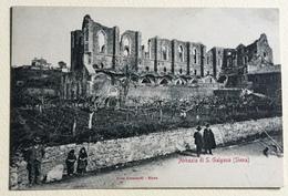 SIENA - ABBAZIA DI S.GALGANO - NV  FP - Siena