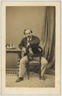 CDV 1860-70 Charles Hideux à Compiègne . Louis-Thomas Mariani , Homme Politique Et Militaire Corse ? Tahiti . - Anciennes (Av. 1900)