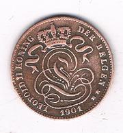 1 CENTIEM 1901  VL    BELGIE /8673/ - 1865-1909: Leopold II