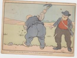 """CPA """"  Travaillez Prenez De La Peine, C'est Le Fonds Qui Manque Le Moins. """" Illustrateur B.Rabier. RARE - Rabier, B."""