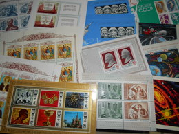 Collection , Urss Lot De 13 Blocs Neuf - Timbres