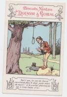 Cpa Pub Biscuits Nantais Ducasse & Guibal Illustrateur Benjamin Rabier (lot Pat 15) - Rabier, B.