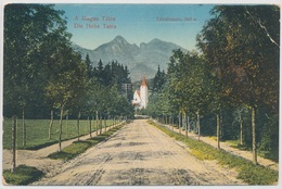 The High Tatra. Tatralomnic, 860 M. - Slovakia