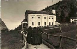 Saas Grund - Kapelle Borlauenen - VS Valais