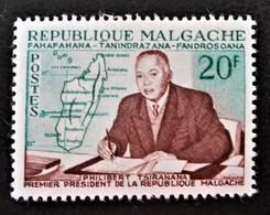 PHILIBERT TSIRANANA PRESIDENT 1960 - NEUF * - YT 353 - MI 464 - Madagascar (1960-...)